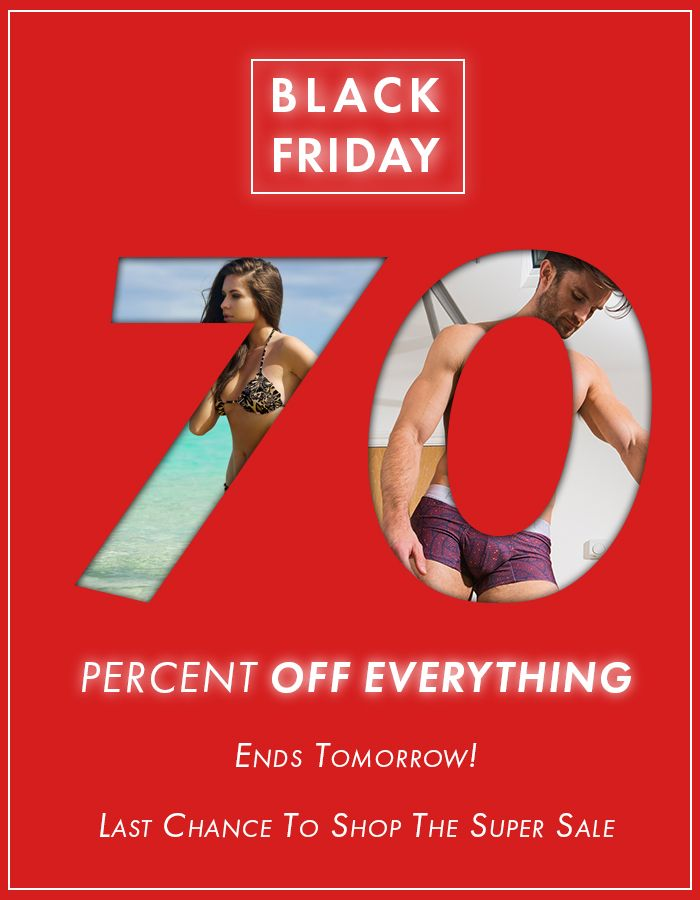 a36ecad83caae Black Friday Sale Ends Tomorrow! - Save A Huge 70% Off All Underwear & Tan  Through Swimwear - No Minimum Spend - Limited Availability - Shop Now
