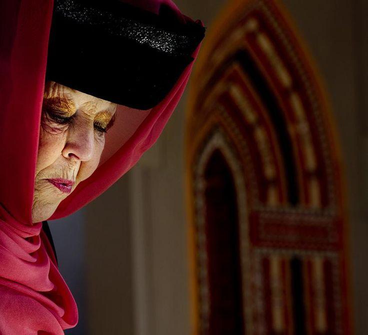 Koningin Beatrix in Oman