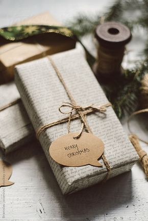 Elegantly wrapped Christmas gifts by Branislav Jovanović