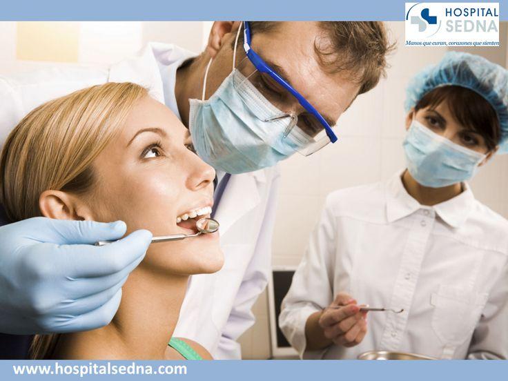 La Odontología se ocupa del estudio y aplicación de los medios necesarios para fomentar, prevenir y restablecer la salud bucal. El médico especialista que se encargará de revisar sus dientes y atenderlo es el odontólogo. En Hospital Sedna contamos con odontólogos especializados para una atención bucal integral. #hospital