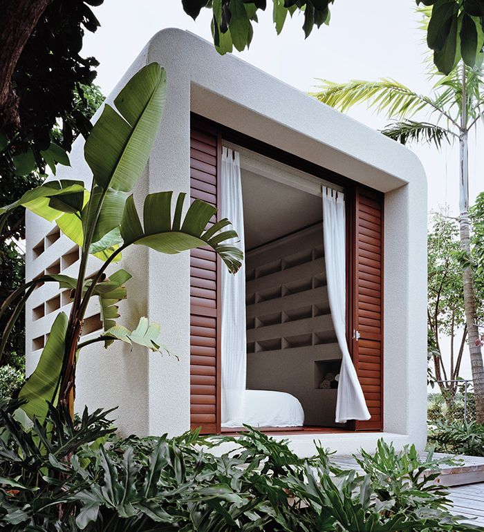 Hurricane proof - for the beach! Prefab affordable housing that's sustainable made of laminated veneer lumber
