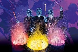 Live in color when you see Blue Man group perform at Universal Orlando.