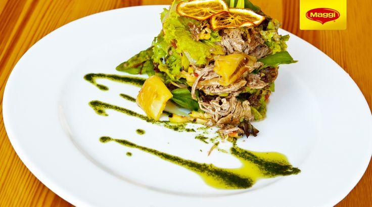 Lamb salad // Salata de miel  Descopera si mai multe retete de Paste cu miel pe www.maggi.ro/retete