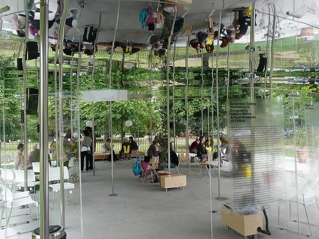 Serpentine Gallery Pavilion 2009 Designed by Kazuyo Sejima and Ryue Nishizawa of SANAA by Loz Flowers, via Flickr