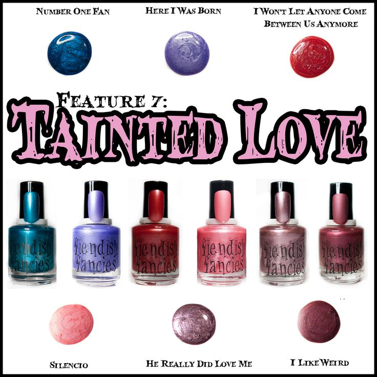 The Tainted Love Collection ~ Inspired by movies about obsession and love gone wrong. Coming February 2016