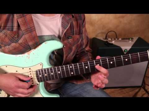 SRV's version of Little Wing guitar lesson