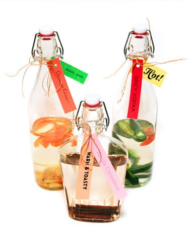 How to make infused vodkas -- great for #NewYears!