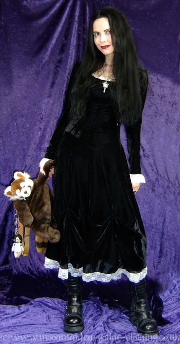 Salem Gown by Moonmaiden Gothic Clothing UK