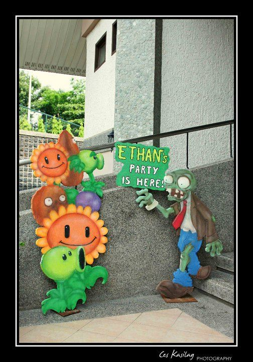Image detail for -plants vs zombies party