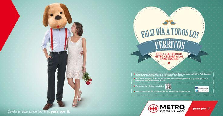 Metro: Dia de los enamorados Perrito