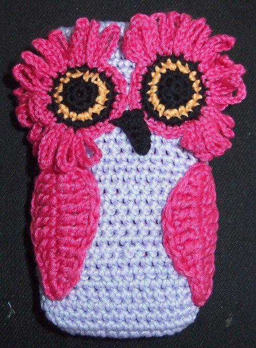 Crochet: Case for mobile phone