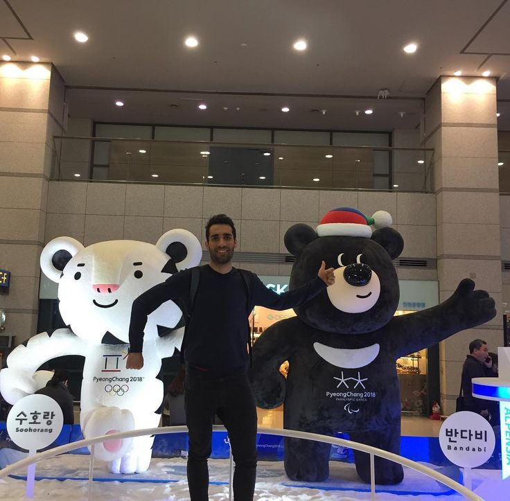 31.8 тыс. отметок «Нравится», 202 комментариев — Martin Fourcade (@martinfourcade) в Instagram: «After a long flight Korea here we are! I discovered the new @olympics mascots for @pyeongchang2018…»