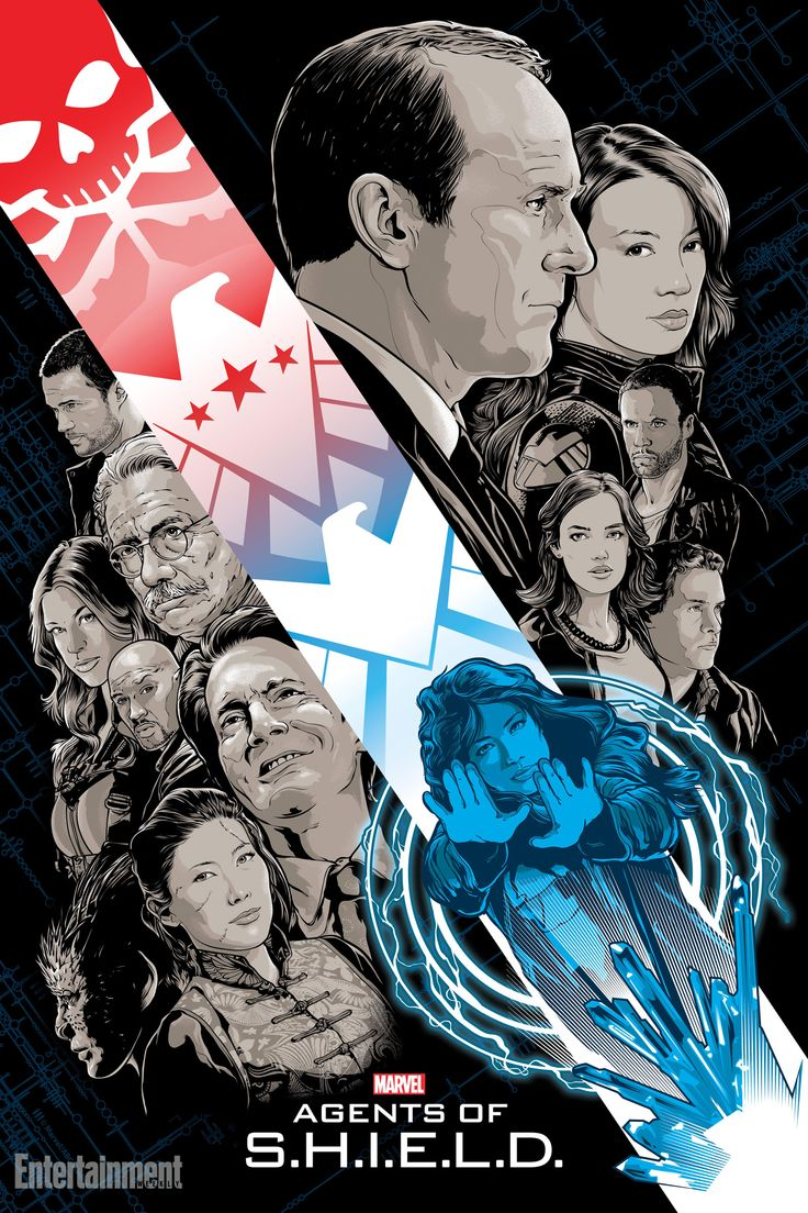 The final piece of Agents of S.H.I.E.L.D.'s Art of Evolution doesn't just feature the wide variety of characters we've come to love throughout the season. It also—in its trademark teasing way—highlights the creative story we've followed for the past 22 episodes.