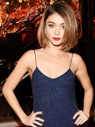 Sarah Hyland's 3 Tricks to Looking Taller