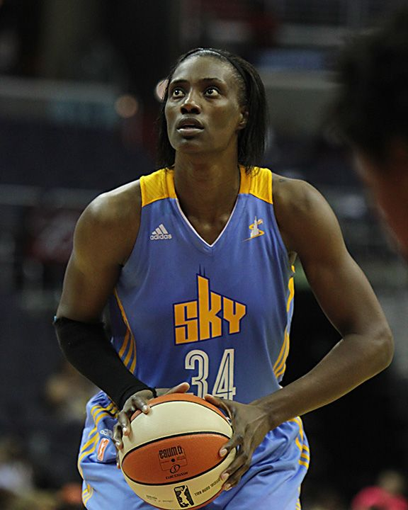 Sylvia Fowles of the Chicago Sky led the vote-getters for the WNBA ...