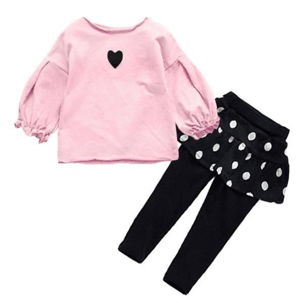 Love Cows Baby Girls Short Sleeve Ruffle Tee Cotton Kids T Shirts 2-6 Years