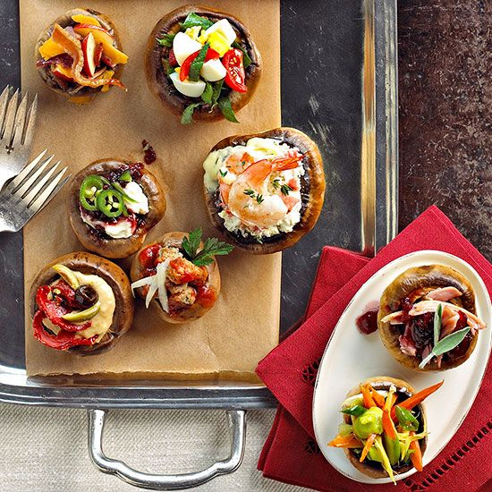 These crowd-pleasing appetizers are perfect for game-day, potlucks or special celebrations. Fuel the fun with one of these recipe ideas.