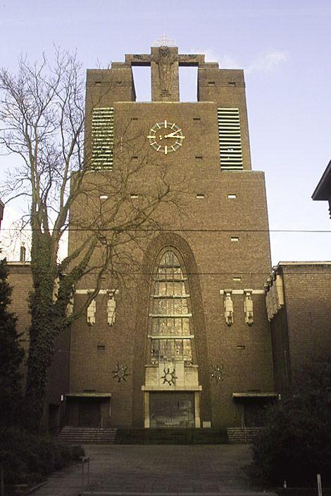 Josef Franke Heilig-Kreuz-Kirche Gelsenkirchen - Expressionismus (Architektur) – Wikipedia