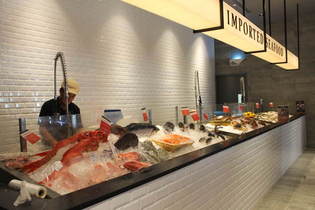 The live seafood market at Emporium Shokuhin is a must visit.