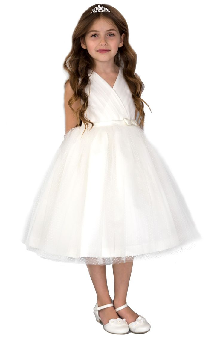 Oh the cuteness! My kind of flower girl look! Pleated Dress