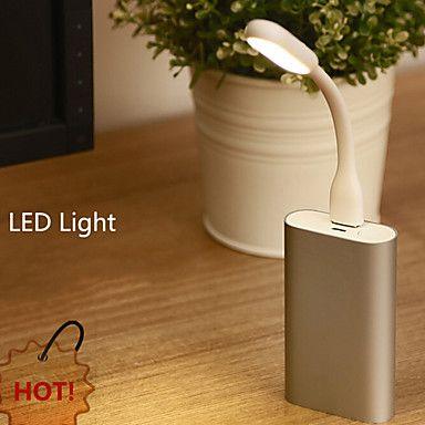 USB portable 1.2w conduit USB flexible lumière alimenté la lampe pour les ordinateurs portables PC portables conduit – EUR € 3.95