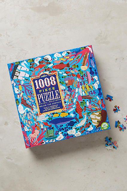 Animal Collage Puzzle - anthropologie.com