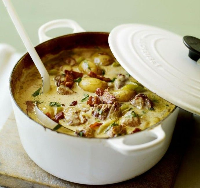 Normandy Pork Casserole - easy one pot dish that is worthy of a supper party