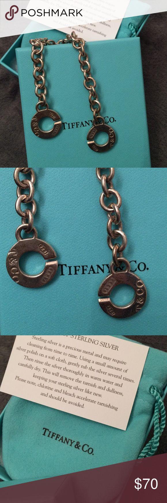 Tiffany and Co. charm bracelet Tiffany charm bracelet. Horseshoe hook clasp. Tiffany & Co. Jewelry Bracelets