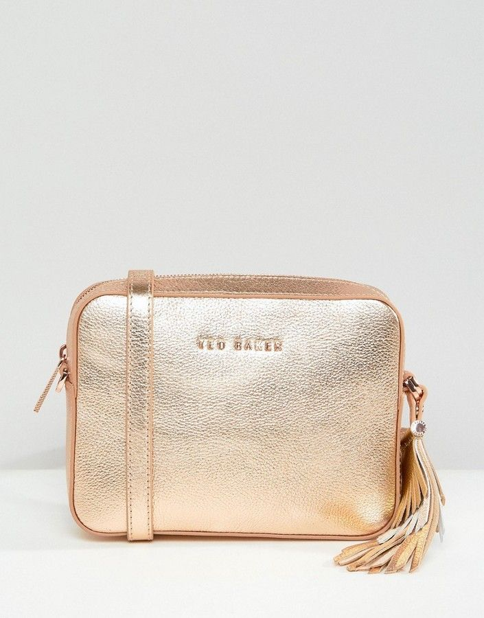 49a8a3690e8 Ted Baker Darwina Metallic Camera Bag | Products | Bags, Fashion und ...