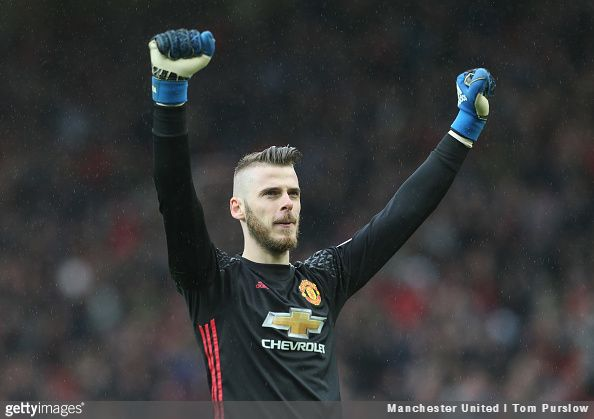Real Madrid president Florentino Pérez claims that a move for Manchester United goalkeeper David de Gea isn't on the Spanish club's agenda this summer