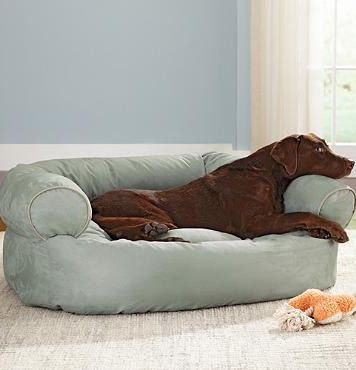 Double your pet's comfort with the tufted, orthopedic comfort of our easy-to-clean Sofa Dog Bed.