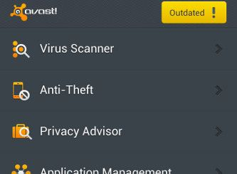 avast! Mobile Security & Antivirus (for Android)