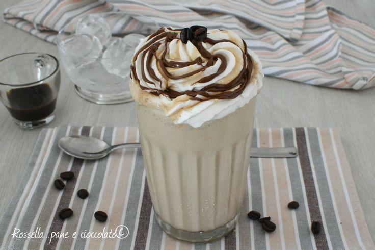 Il frappuccino senza frullatore e' una bevanda fresca e adatta per l'estate, facilissima da fare e solo con un Barattolo di vetro!