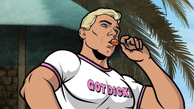 Archer gay episode