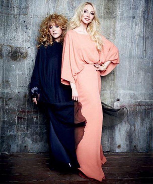 Alla and daughter Kristina.