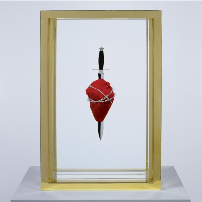 The Immaculate Heart – Lost Damien Hirst