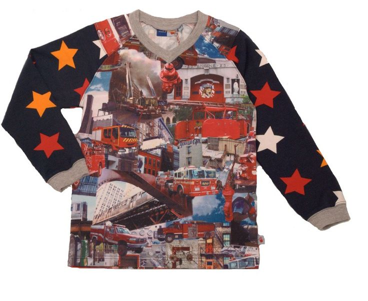 Molo Kids | Camiseta Rasmus Bomberos