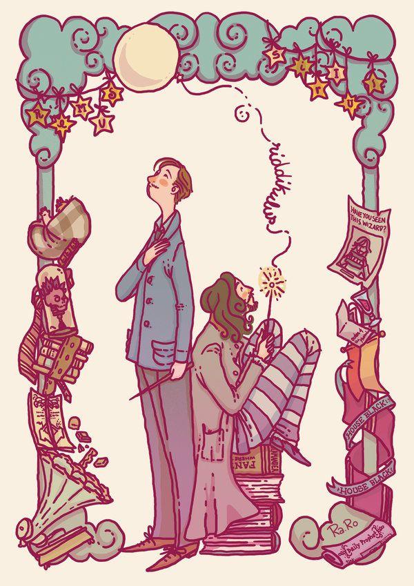 Remus And Sirius by RaRo81.deviantart.com on @DeviantArt