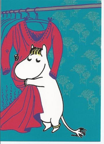 If I were a moomin, this would be me.