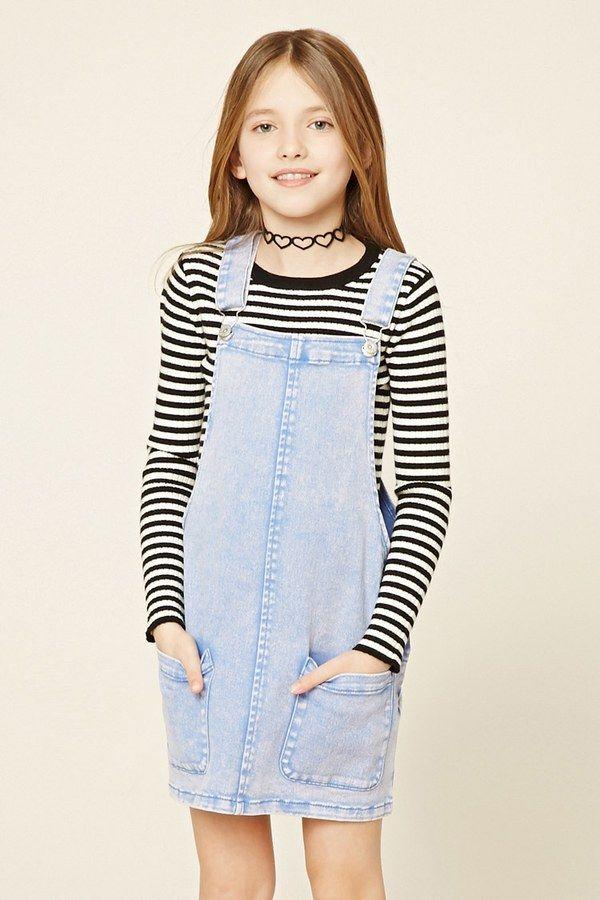 FOREVER 21+ Girls Overall Dress (Kids)