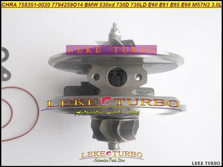 Turbo Cartridge CHRA GTB2260V 758351 758351-0013 For BMW 525D 525XD 530D 530XD 730D 730LD 3.0L D M57N M57N2-3/456789 10 11 235HP