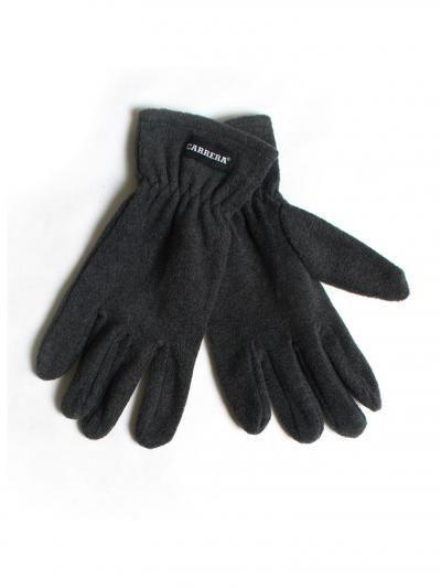 Fleece gloves.