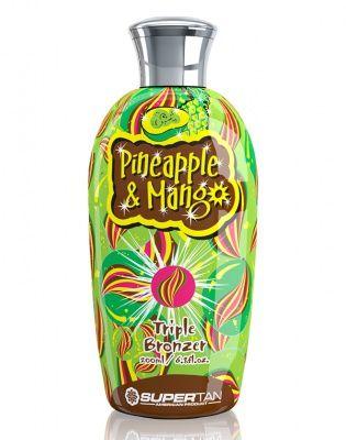 Pineapple and Mango - Ананас и Манго - Активатор загара 200 мл Supertan American Product от Supertan American Product