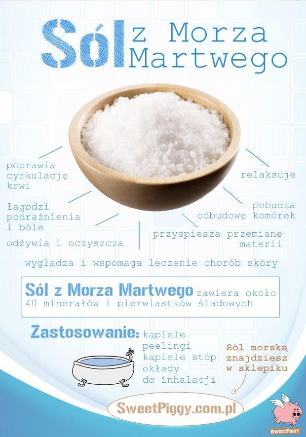Do czego można wykorzystać sól z Morza Martwego