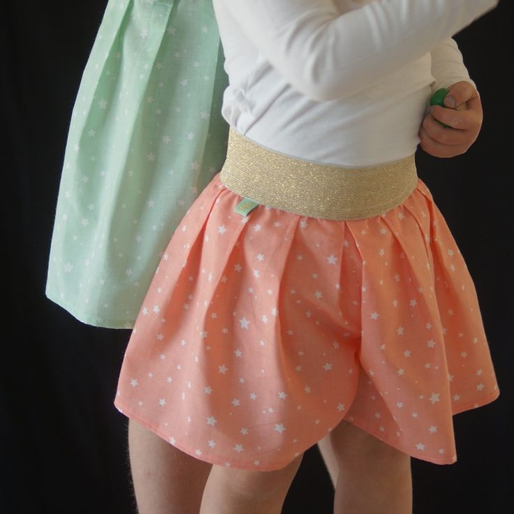 Free PDF Sewing Pattern - Children's Elastic Waist Culottes by Miss Maude - Miss Maude Fabric and Sewing Supplies