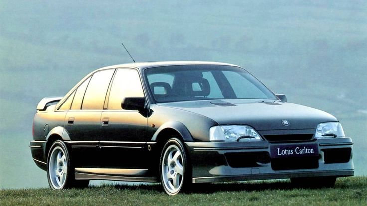 Lotus Carlton. Supercar perfoemance when launched in 1990. Looks so dated now
