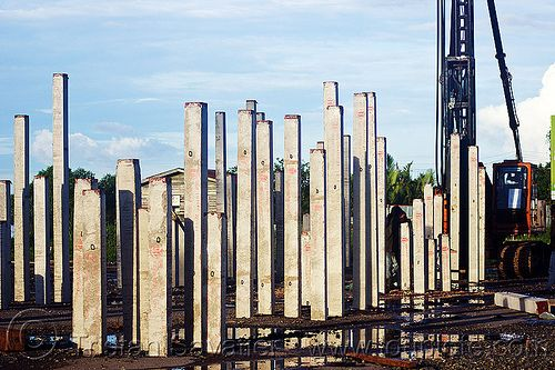 Pinterest the world s catalog of ideas for Foundation pilings