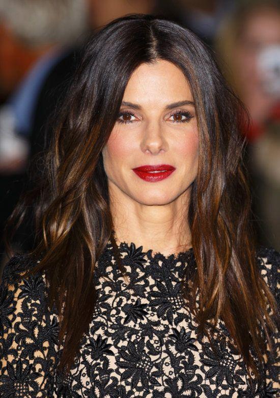 Sandra Bullock at 'Gravity' Screening | Celebrity Hair and Makeup | London Film Festival 2013