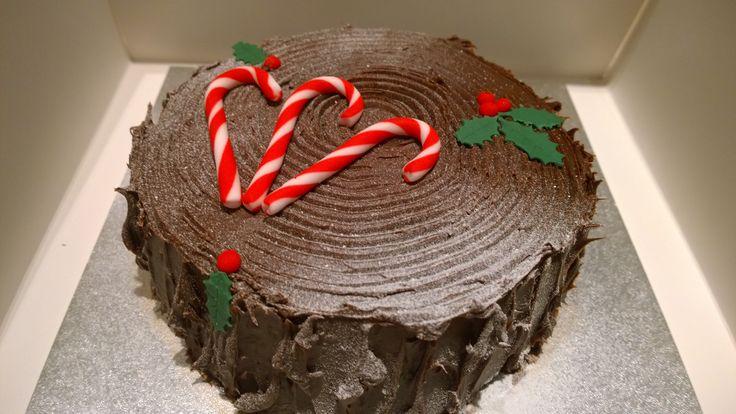 Chocolate Log by Helen
