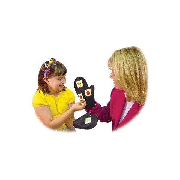 Guanto MagneMitt® per bambini Usate questo guanto pe esercizi di comunicazione, narativi o giochi interattivi!